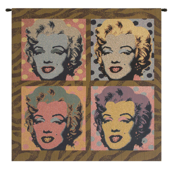 Marylin Monroe PopArt Italian Tapestry Wallhanging