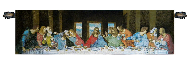 The Last Supper Italian Italian Tapestry Wall Hanging