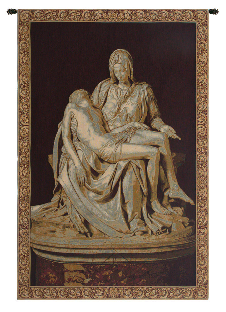 Pity by Michelangelo Italian Tapestry Wall Hanging