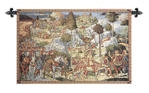 Chapel of the Magi Florence Italian Tapestry Wallhanging