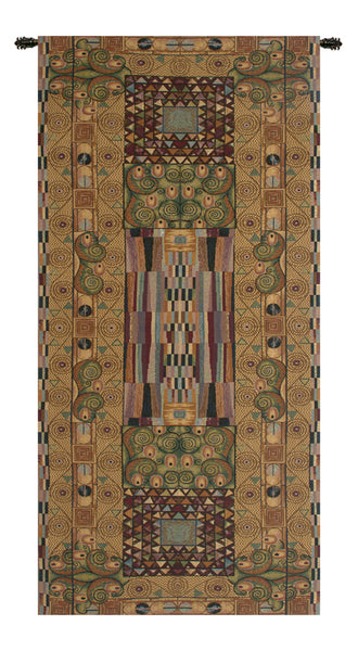 The Frieze by Klimt Italian Tapestry Wallhanging