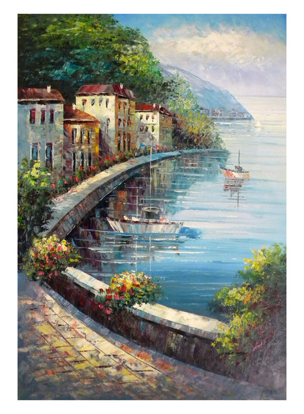 A Quiet Bay Canvas Wall Art