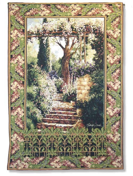 Garden Path Tapestry Wall Hanging