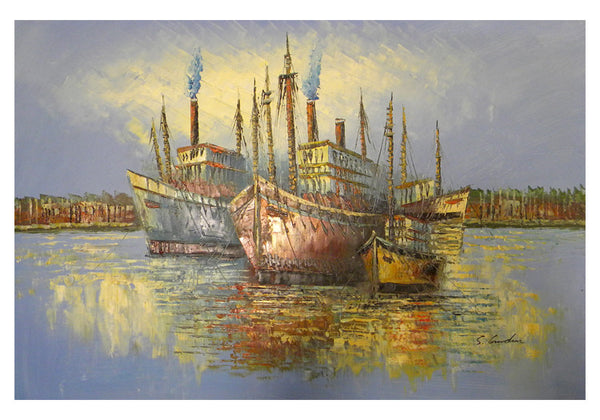 Sea Voyage Canvas Wall Art