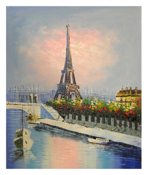 Eiffel Tower in Paris Canvas Wall Art