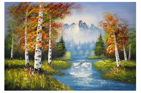 Gradus of Autumn Canvas Wall Art
