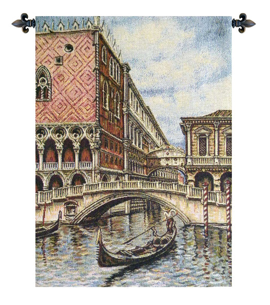 Venice II Italian Tapestry Wallhanging