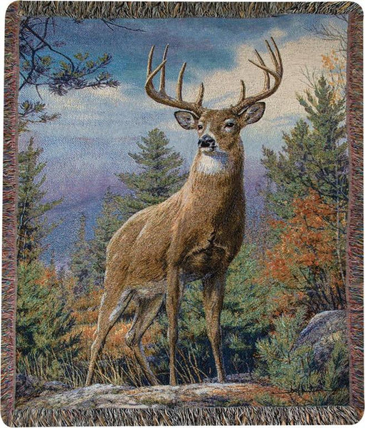 Standing Proud Tapestry Throw