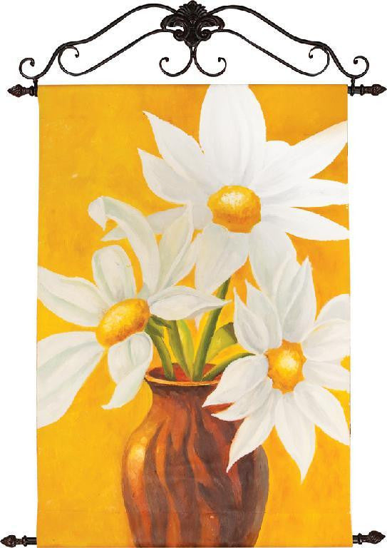 Golden Daisies Oil Painting