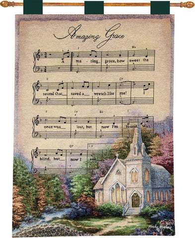 Church in the Country I Fine Art Tapestry