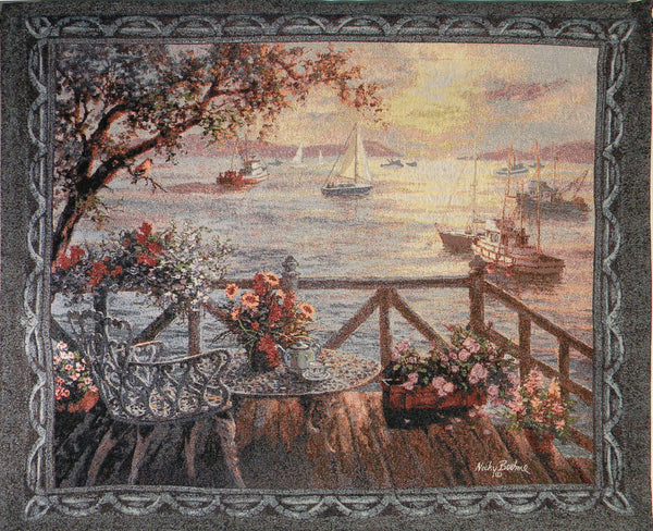 Treasures of the Sea Fine Art Tapestry