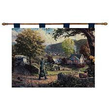 Homecoming Hero Fine Art Tapestry