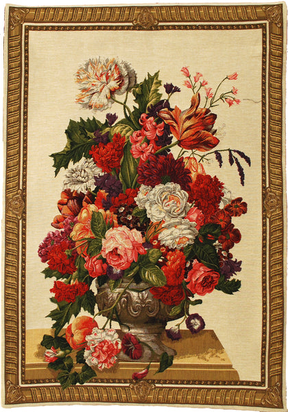 Urn Bouquet  European Wallhanging