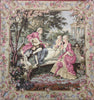 Garden Party Left Panel European Cushion Cover
