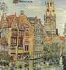 The Canals of Bruges European Cushion Cover