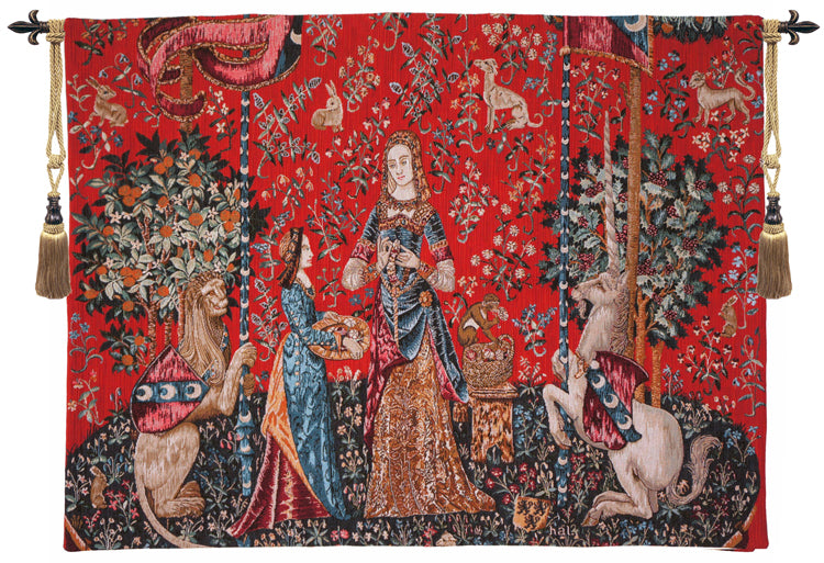 L'Odorat French Tapestry Wall Hanging