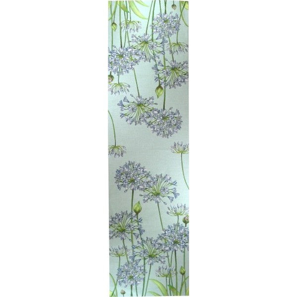 Agapanthus Blue  French Tapestry Table Runner