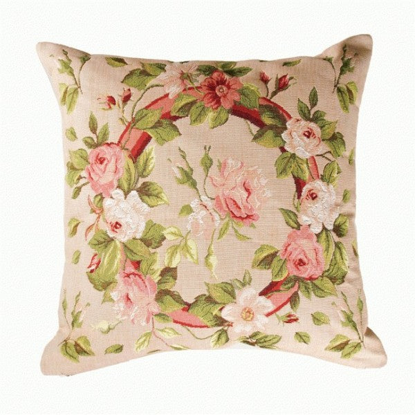 Bunch of Flowers 1 French Tapestry Cushion