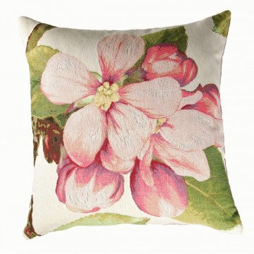 Pear Flower 1 French Tapestry Cushion