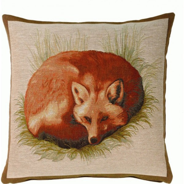 Fox  French Tapestry Cushion