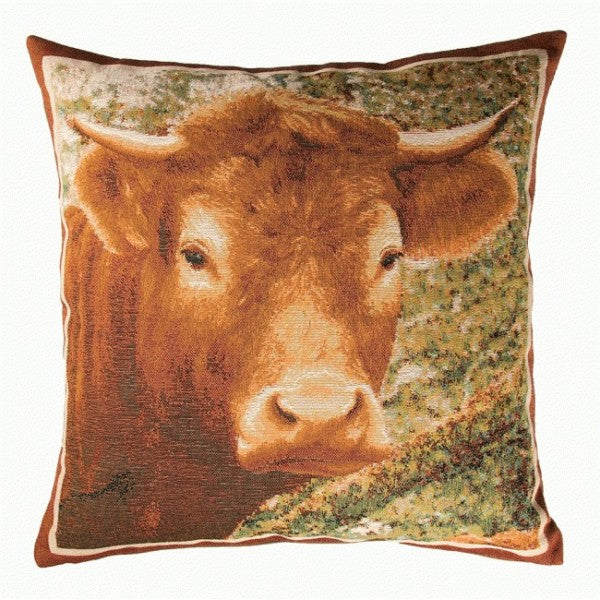 Charolais French Tapestry Cushion