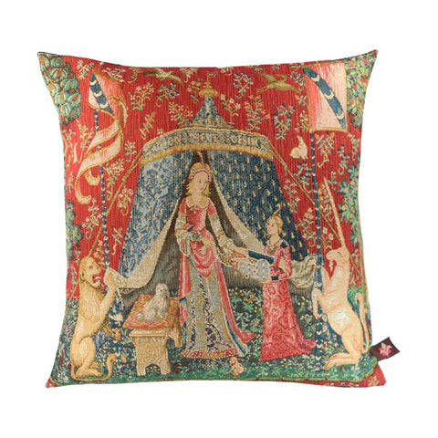 A Mon Seul Desir III French Tapestry Cushion