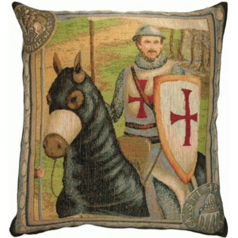 The Rider 2 French Tapestry Cushion