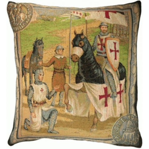 Templar's 1 French Tapestry Cushion