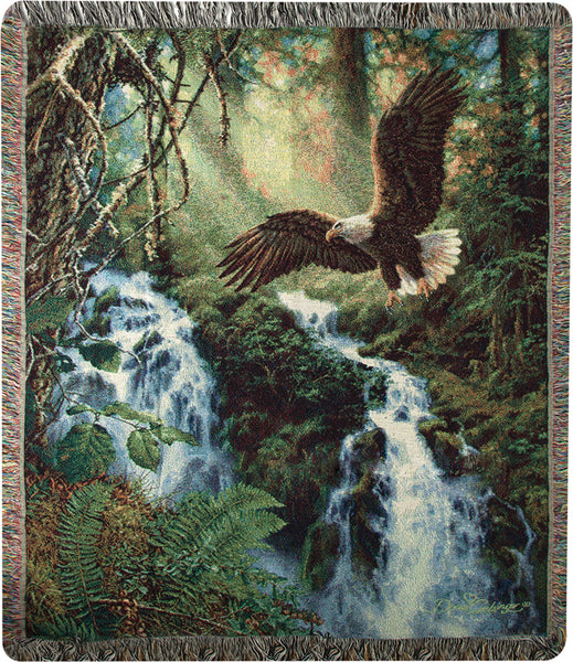 Eagle's Flight Tapestry Throw
