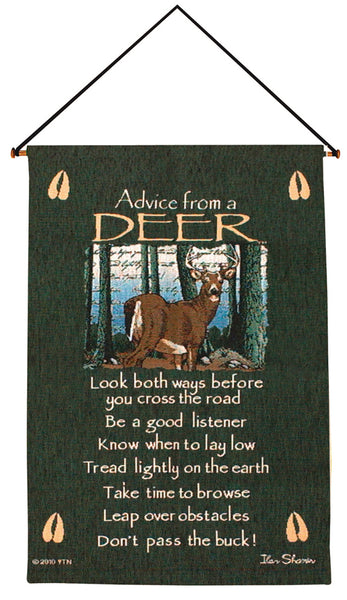 Advice From A Deer I Fine Art Tapestry