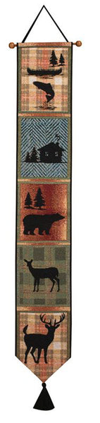 Bear Lodge Bell Pull Tapestry Bell Pull