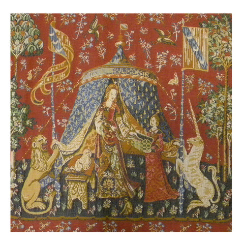 A Mon Seul Desir V French Tapestry Cushion