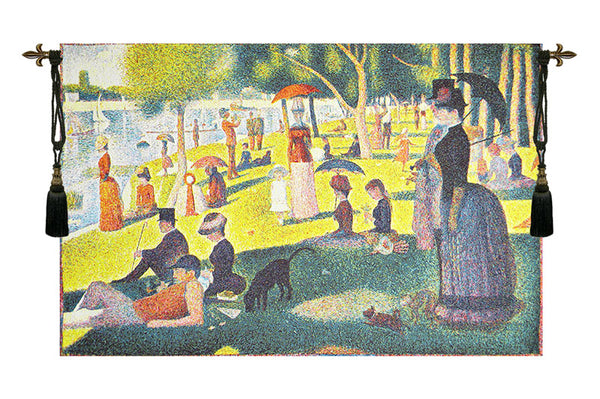 Seurat Sunday Afternoon European Tapestry