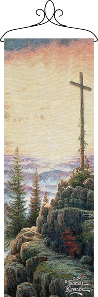 Sunrise w/Verse Wall Panel Fine Art Tapestry