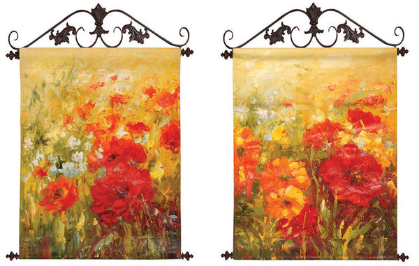 Field of Floral I Canvas Art