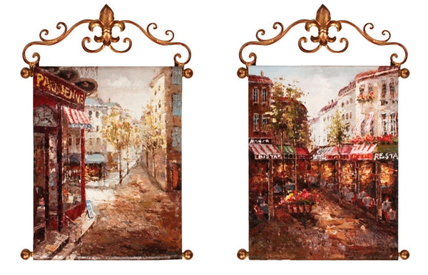 Rue De Paris I Canvas Art