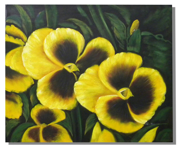 Yellow Peony Oil Painting
