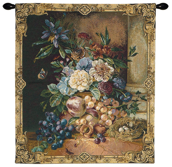 Frame of Flowers I European Wallhanging