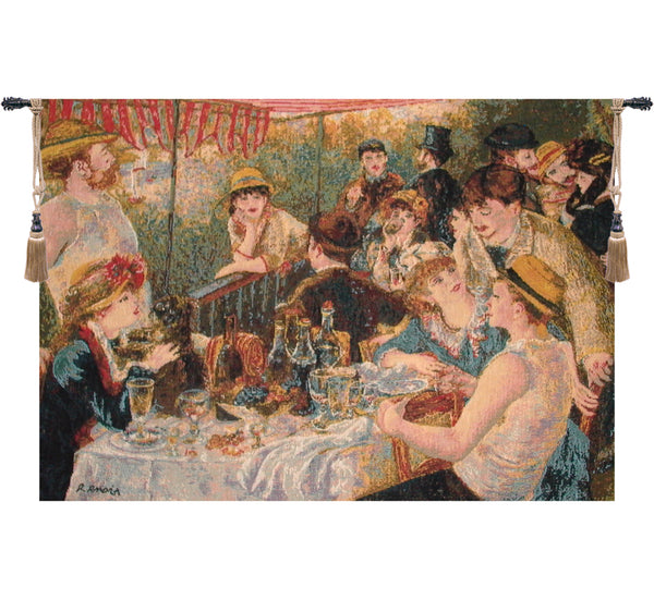 Luncheon Of The Boating Party by Renoir European Wallhanging