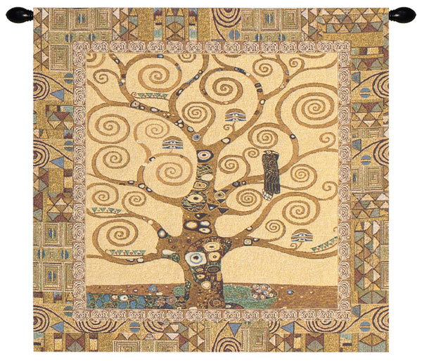 Stoclet Tree by Klimt European Wallhanging