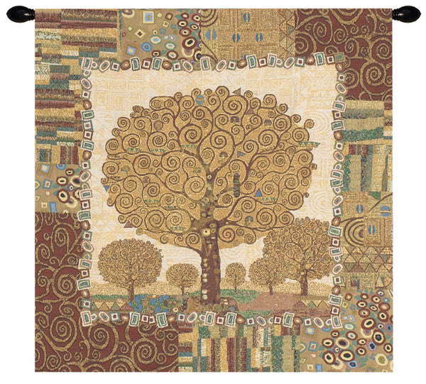 New Tree of Life by Klimt European Wallhanging