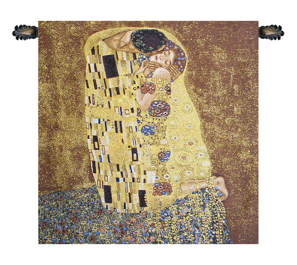 Kissed by Klimt European Wallhanging