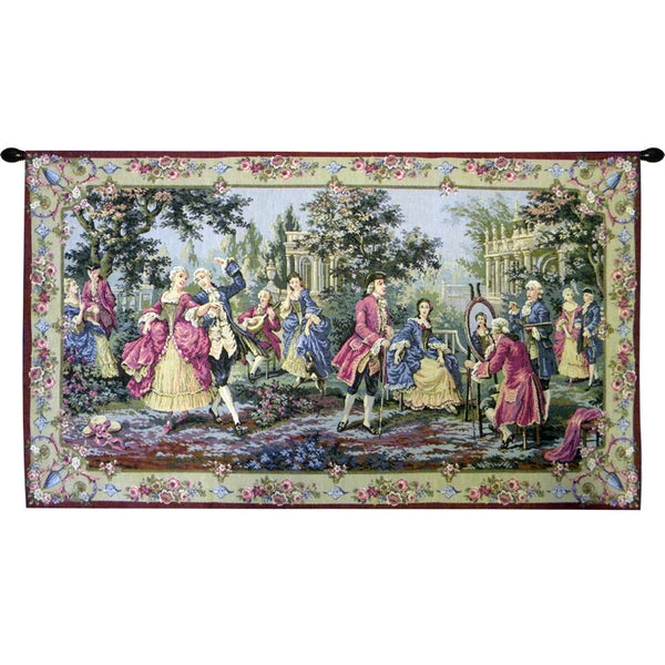 Society in the Park Right European Wallhanging