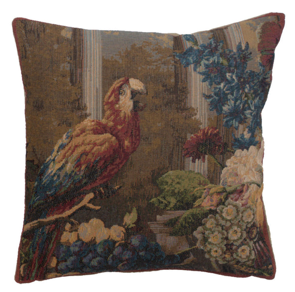 Perroquet French Tapestry Cushion