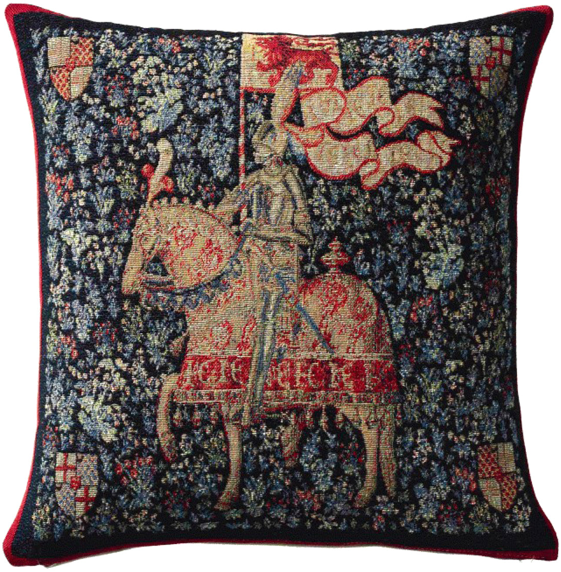 The Knight French Tapestry Cushion