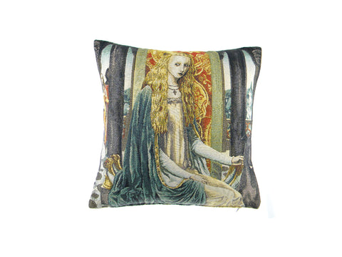 Lady 1 Belgian Tapestry Cushion