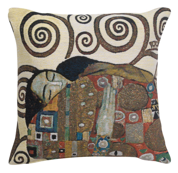 Lebensbaum Fulfillment Belgian Tapestry Cushion