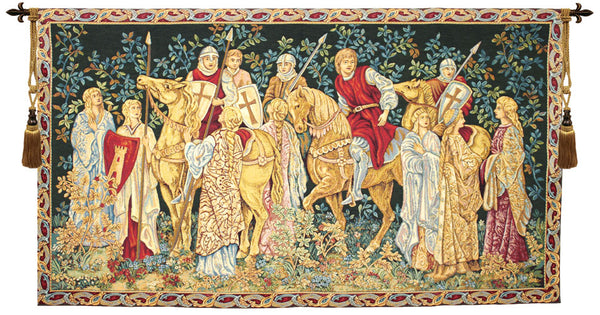 Les Croises 1 Italian Tapestry Wall Hanging