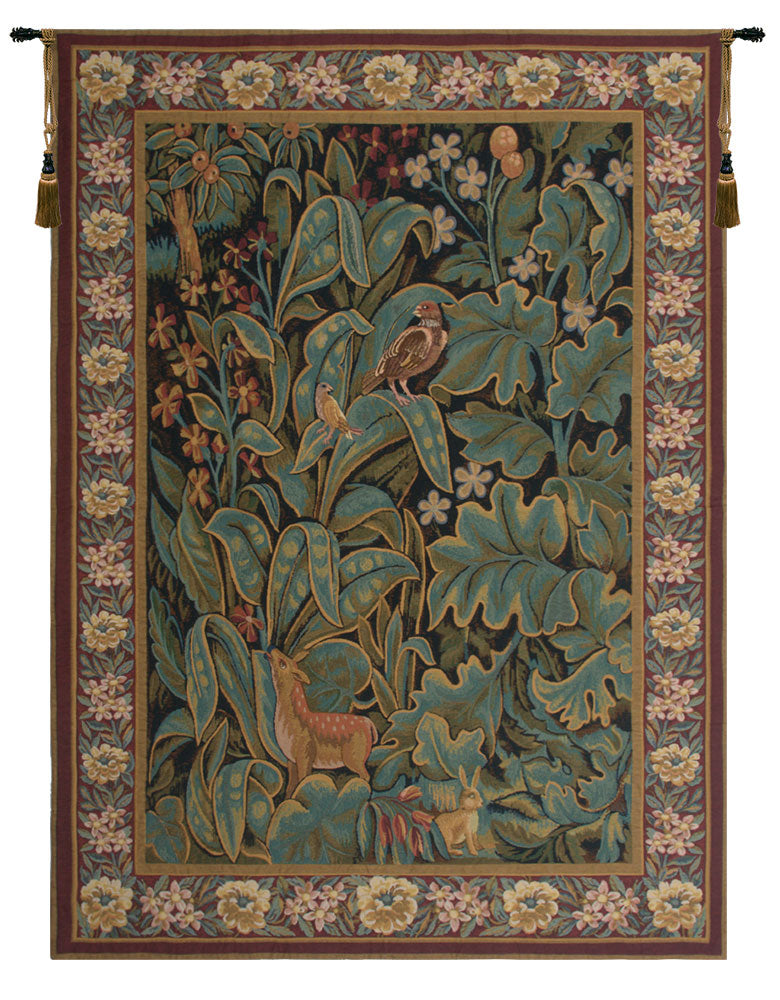 Aristoloche I Belgian Tapestry Wall Hanging