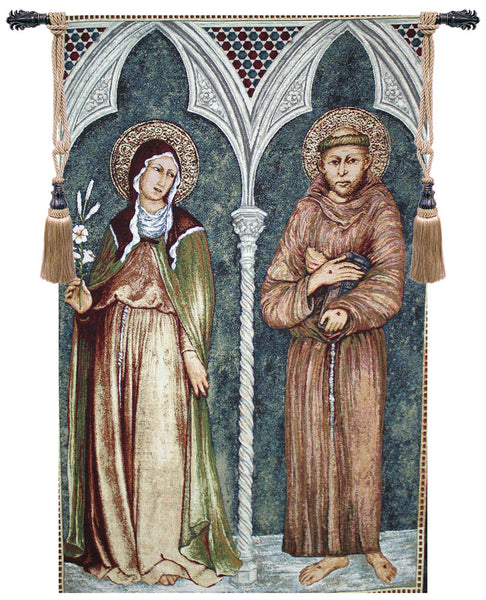 Saint Francis and Saint Clare II